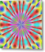 3x1 Abstract 918 Metal Print