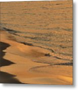 Golden Sand  Metal Print