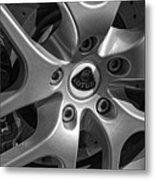 2011 Lotus Euora Wheel Emblem Metal Print