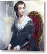 Abigail Adams (1744-1818) Metal Print by Granger