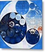 Abstract Painting - Midnight Express Metal Print