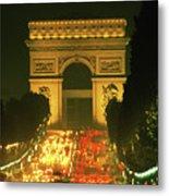 Arc De Triomphe In Paris 2 Metal Print