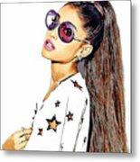 Ariana Grande Metal Print