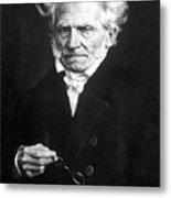Arthur Schopenhauer Metal Print