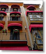 Artistic Architecture In Palma Majorca, Spain Metal Print