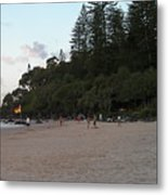Australia - Greenmount Surf Club On Patrol Metal Print