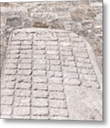 Ball Court At The Coba Ruins  Metal Print