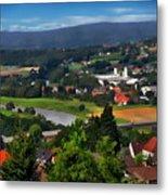 Bavarian Landscape Metal Print