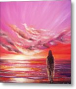 Beyond The Sunset  Metal Print