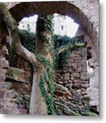 Castle Ruin Noerten-hardenberg Metal Print