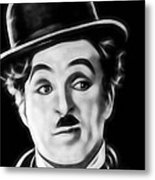 Charlie Chaplin Collection Metal Print