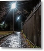 Chester After Dark Series Metal Print