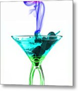 Cocktails Collection Metal Print