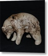 4 Corners Bear Metal Print