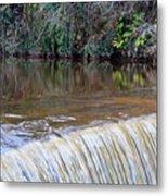 Cramond Waterfall Metal Print