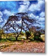 Desertic Tree Metal Print