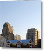 Downtown Fort Worth Metal Print
