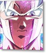 Dragon Ball Super Metal Print