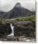 Fairy Pools - Isle Of Skye Metal Print