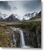 Fairy Pools Of River Brittle Metal Print