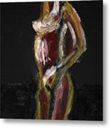 Fat Nude Woman  Metal Print