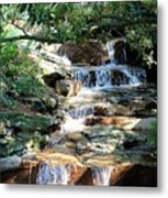 Flowing Water Metal Print