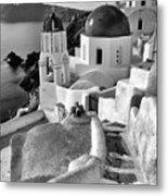 Greek Island - Santorini Metal Print