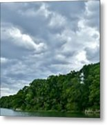 Green's Hill And The Bass River Metal Print