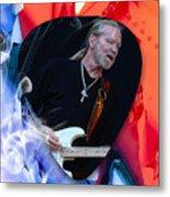 Gregg Allman Art Metal Print