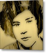 Harry Styles Collection Metal Print