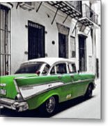 Havana, Cuba - Classic Car Metal Print