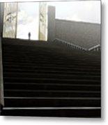 Heavens Gates And Silhouette Metal Print