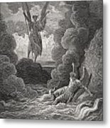 Illustration By Gustave Dore 1832-1883 Metal Print