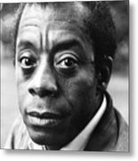 James Baldwin Metal Print