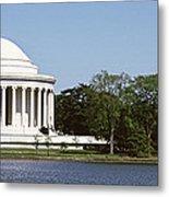 Jefferson Memorial, Washington Dc Metal Print
