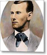 Jesse James, 1847-1882 Metal Print