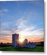 Knowlton Church - England Metal Print