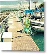 Lahaina Harbor Maui Hawaii Metal Print