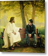 Lost And Found Metal Print by Greg Olsen