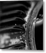 Macro Of Everyday Object Metal Print