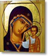Madonna Religious Art Metal Print