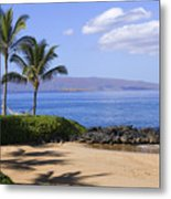Makena, Secret Beach Metal Print