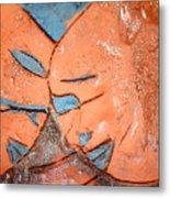 Mask - Tile Metal Print