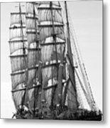 4-masted Schooner Metal Print