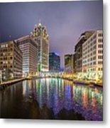 Milwaukee Wisconcin City And Street Scenes Metal Print