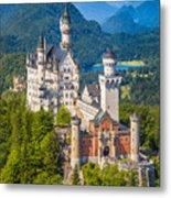 Neuschwanstein Fairytale Castle Metal Print