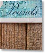 New Uk Five Pound Note Metal Print