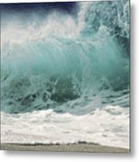 North Shore Wave Metal Print by Vince Cavataio - Printscapes
