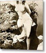 Nude Posing, C1900 Metal Print