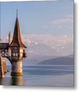 Oberhofen - Switzerland Metal Print